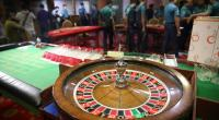 Casino set-up found at Mohemmaden, Arambagh, Victoria, Dilkusha clubs