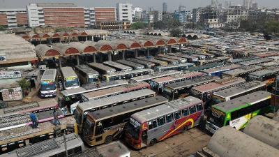 Nine inter-district bus terminals on the cards