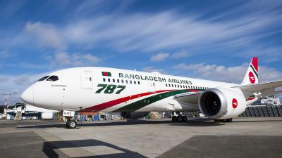 Biman's third Boeing Dreamliner arrives Thursday