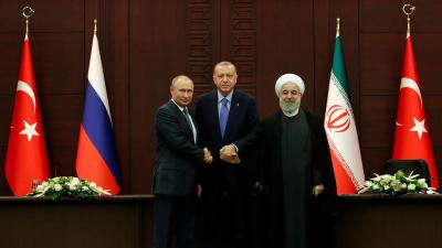 Turkey, Russia, Iran agree steps to ease tensions in Syria