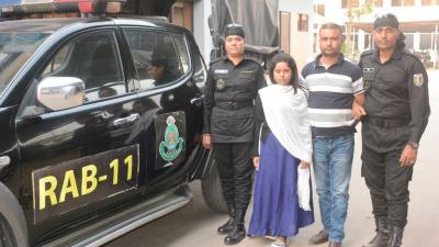 Couple arrested with yaba in Narayanganj