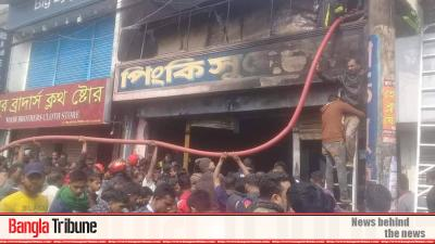 Five of a family killed in Moulvibazar fire