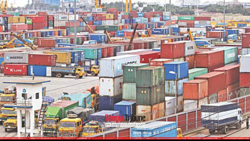 Foreign trade shows downward trend