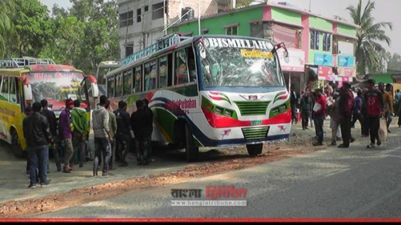Bus services shut in six southern districts