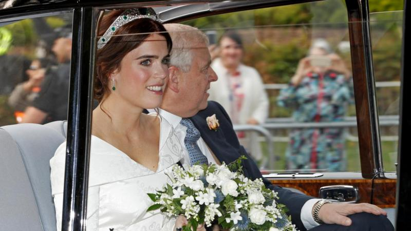 Princess Eugenie marries at grand royal wedding
