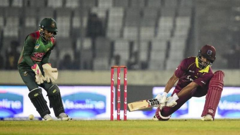 Bangladesh win toss, send WI to bat first