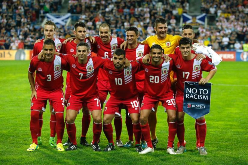 It was the first time Gibralta won a match other than a friendly since joining UEFA in 2013. REUTERS/file photo