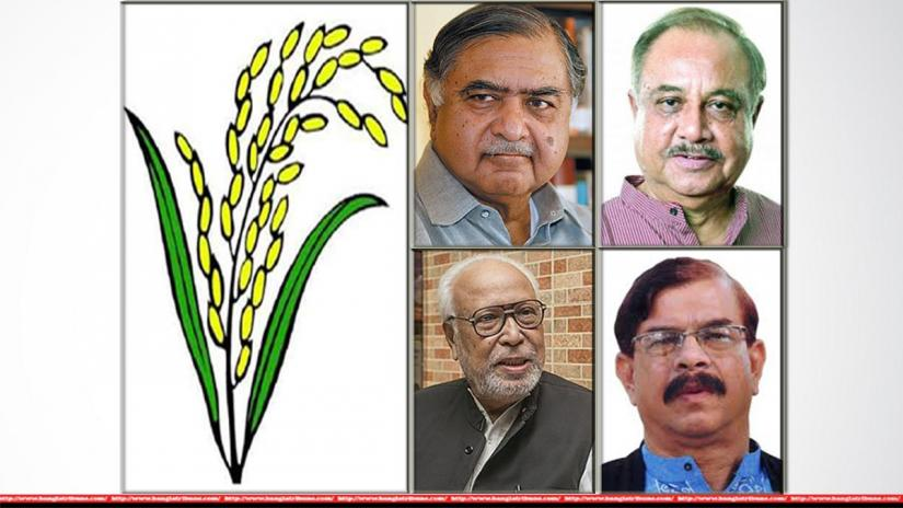 Oikya Front to contest polls with BNP`s electoral symbol `paddy sheaf`.