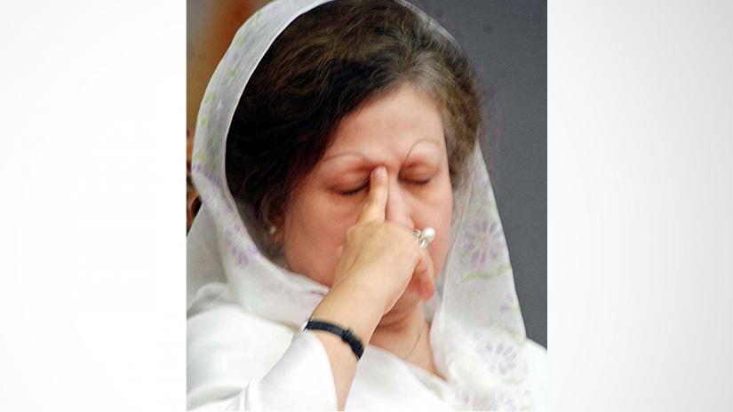 Bangladesh Nationalist Party (BNP) chief Khaleda Zia. FOCUS BANGLA
