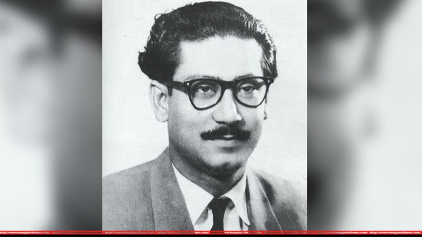 Bangabandhu Sheikh Mujibur Rahman during the 50s