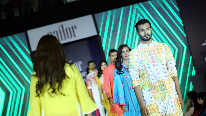Fashion brand Sailor organised a glamorous fashion show to celebrate its fourth anniversary.