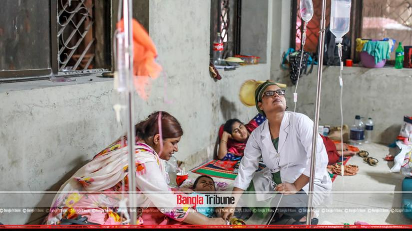 Hospitals across Bangladesh are at breaking point with hundreds being admitted every day with dengue. The number of patients is rising alarmingly with this being the worst outbreak to hit the country.