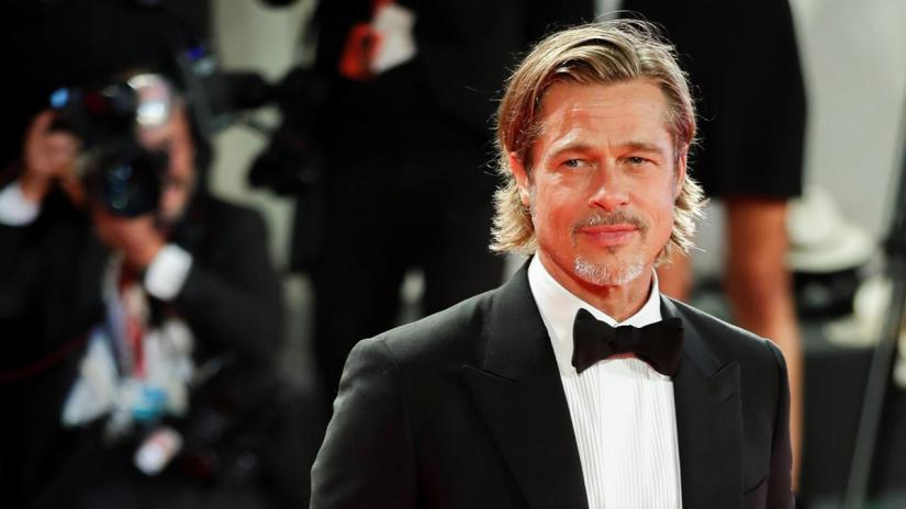 The 76th Venice Film Festival - Screening of the film `Ad Astra` in competition - Red Carpet Arrivals - Venice, Italy, August 29, 2019 - Actor Brad Pitt poses. REUTERS