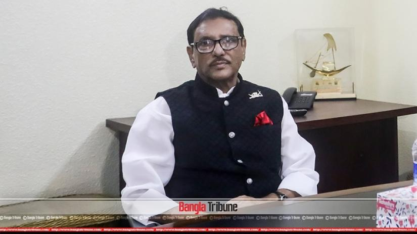 Awami League General Secretary Obaidul Quader. SAZZAD HOSSAIN/File Photo