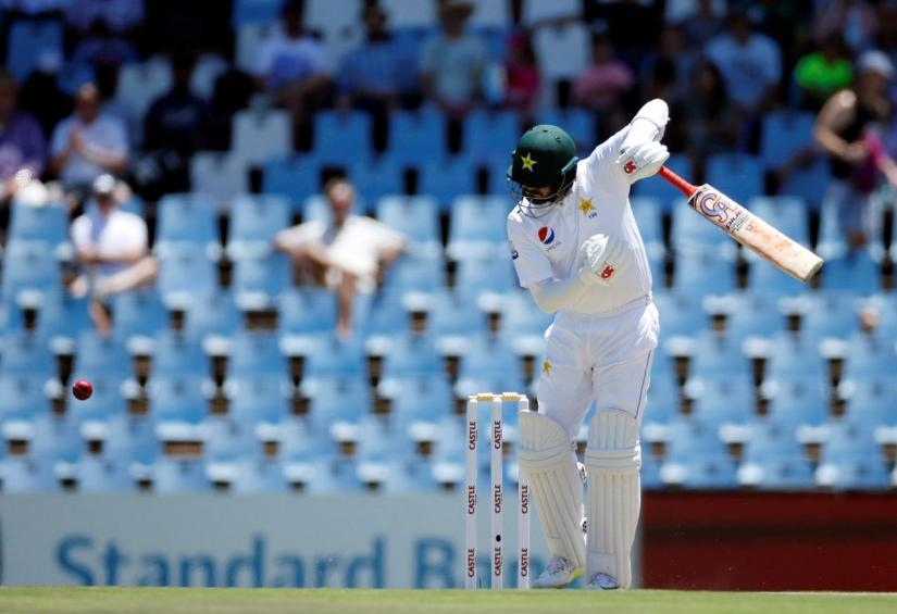 FILE PHOTO: Cricket - South Africa v Pakistan - First Test - SuperSport Park Stadium, Centurion, South Africa - Dec 26, 2018 Pakistan`s Azhar Ali in action. REUTERS