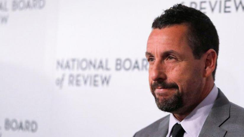 FILE PHOTO: Adam Sandler arrives for the National Board of Review Awards in Manhattan, New York City, US, Jan 8, 2020. REUTERS